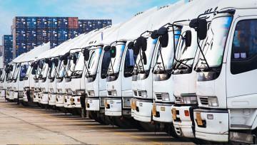 Smrad medzi kamiónmi